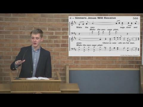 Jesus is Sinless (Matthew 4:1-11) - Barry Gilreath