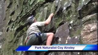 Carter Caves Climbing Area Opens