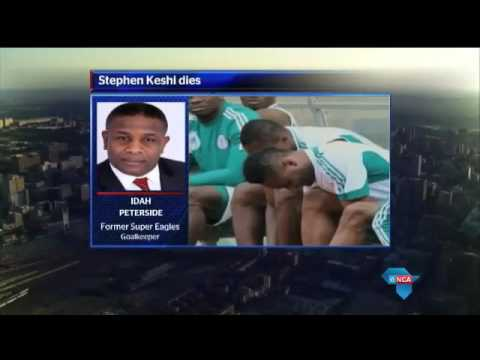 Idah Peterside reacts to Stephen Keshi death
