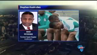 Idah Peterside reacts to Stephen Keshi death