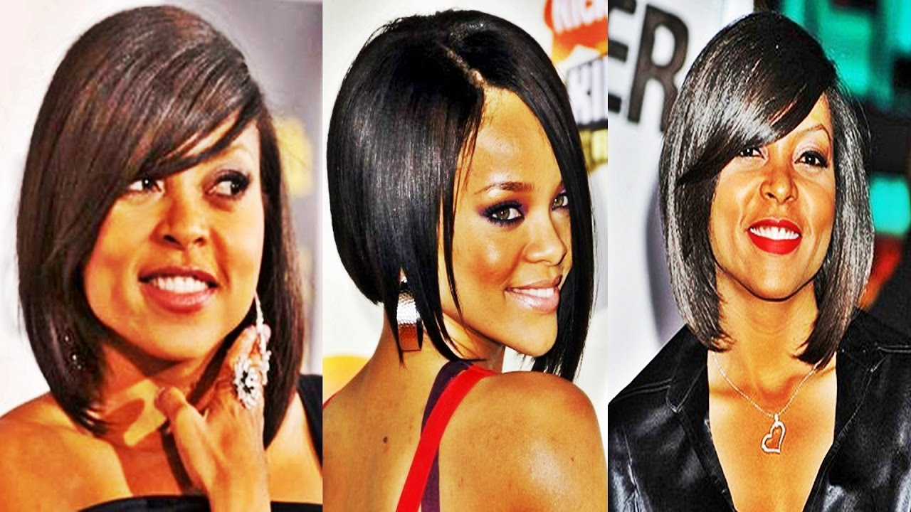 Unique Bob Hairstyles For Black Women 2017 - YouTube
