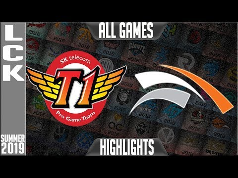 SKT vs HLE Highlights ALL GAMES | LCK Summer 2019 Week 5 Day 1 | SK Telecom T1 vs Hanwha Life Esport