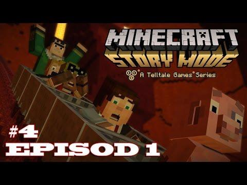 Minecraft Story Mode    Wuahh PANAS2 !! EPISOD 1 #4 Akhir