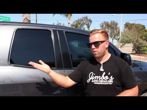 Car Cleaning Hacks: Cleaning Tinted Windows In Direct Sun