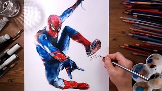 Spider-Man : Speed drawing | drawholic