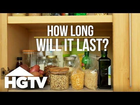 How Long Will it Last? Pantry Edition - How to House - HGTV