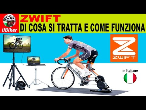 ZWIFT | I'll explain what it is and how it works (in Italian)
