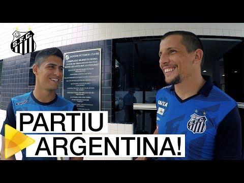 PARTIU ARGENTINA: os BASTIDORES da viagem para encarar o Estudiantes