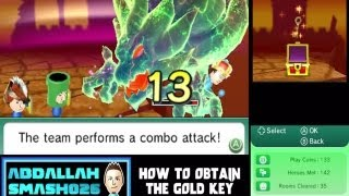 Find Mii 2 /  Streetpass Quest 2 - Secret Quest:  How to Obtain the Gold Key!