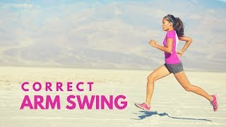 Running Tip 2 Correct arm swing while running