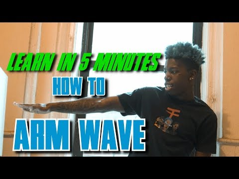 Arm Wave Tutorial | 😎 LEARN THE ARM WAVE IN MINUTES 😎