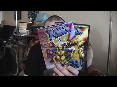 X-Men - The Animated Series Volumes 1 & 2 - DVD Review & RANT