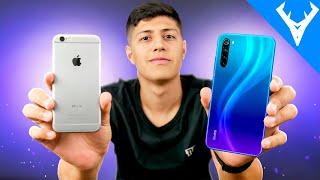IPHONE 6S vs REDMI NOTE 8 Comparativo | Qual melhor para você?
