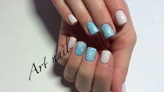 Снежинки на Ногтях(несколько способов)! Маникюр со снежинками! Дизайн Ногтей! Winter Nail Art