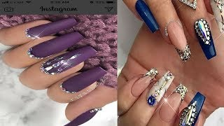 Beautiful and simple design of Nails - Best Nail Art Tutorial