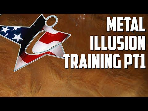 Metal Illusion Flooring Training (Part 1)