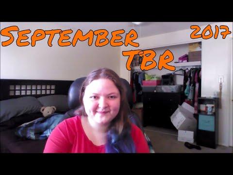 September TBR   2017