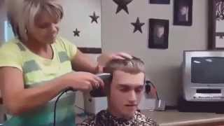 Short Hair Cut Tutorial Crew Cut  How To Use Cut Man Hair Short and Style Easy