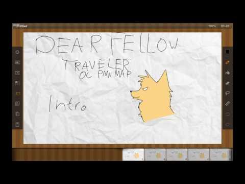 Dear Fellow Traveler- OC PMV Color Pallet...