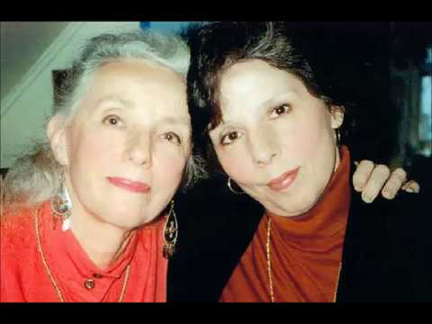 Sonia Malkine with Monelle Malkine Richmond - radio program The World of Folk Music 1982