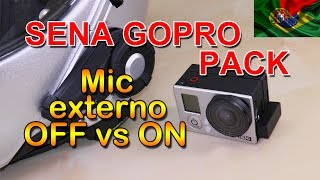 GoPro Pack - Microfone OFF vs O