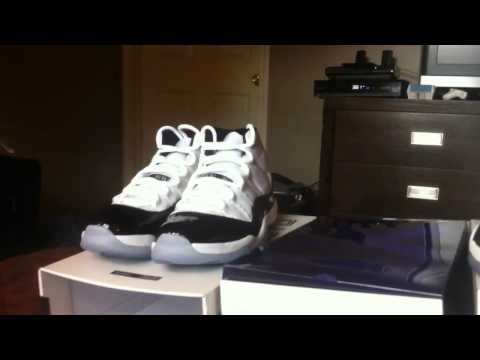 Jordan 2011 Concord what's real vs what's fake