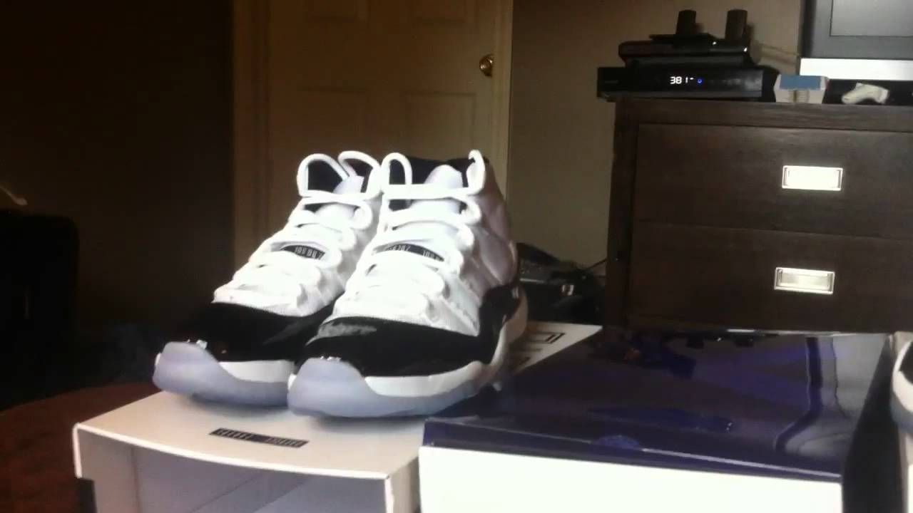 newest 729b9 55544 Jordan 2011 Concord what s real vs what s fake