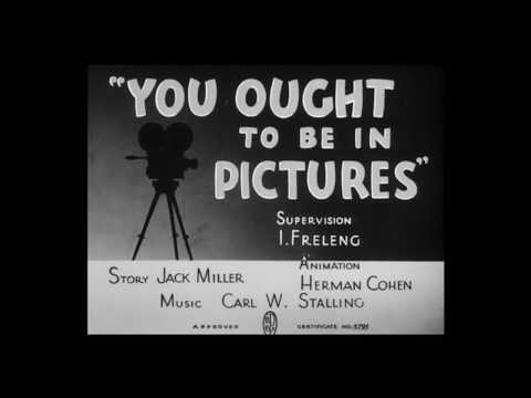 Looney Tunes - You Ought To Be In Pictures (1940) Opening Title & Closing [Golden Collection Vol. 2]