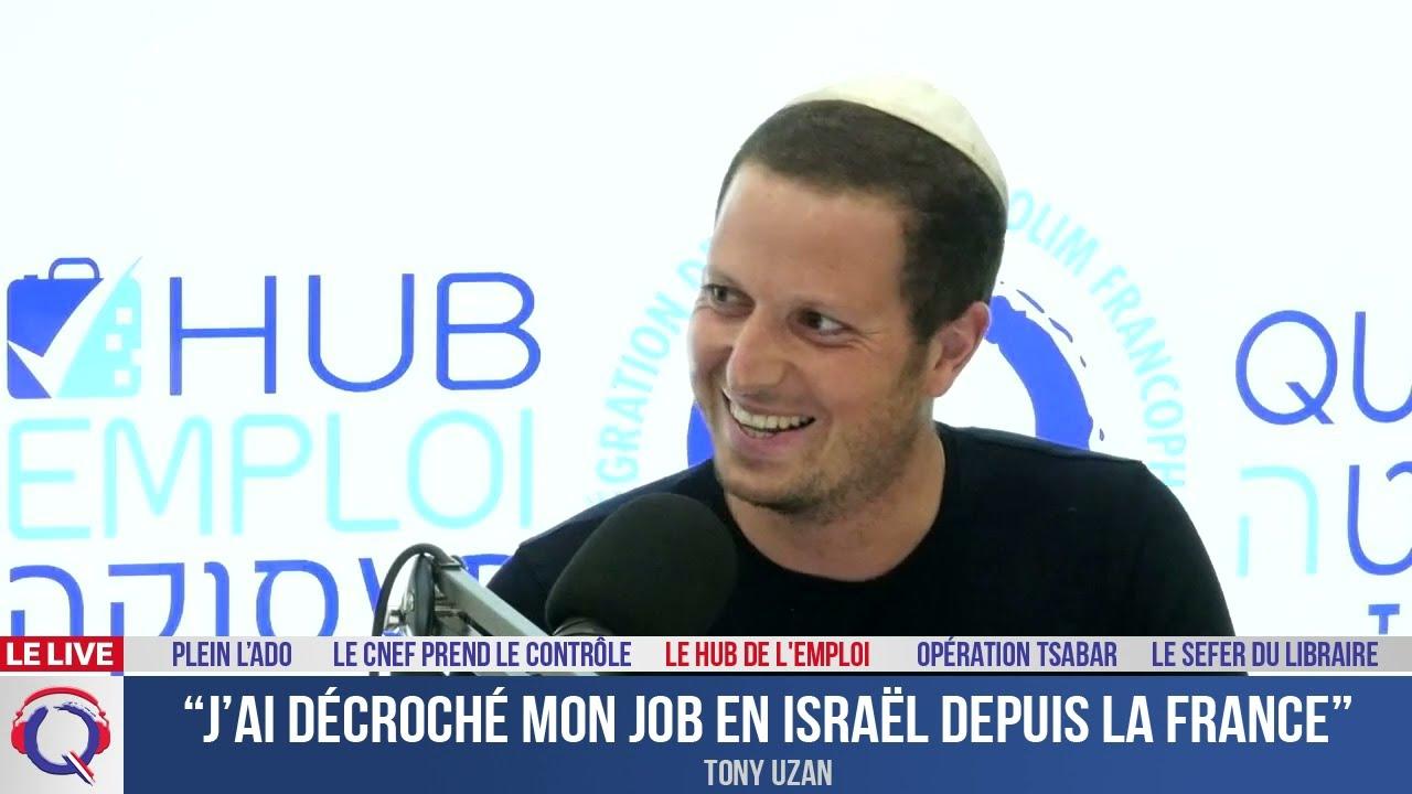 """J'ai décroché mon job en Israël depuis la France"" - HUB#111"