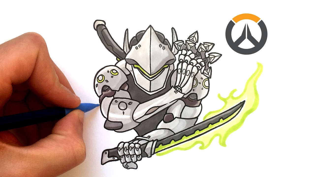 Dessin Genji Overwatch Youtube