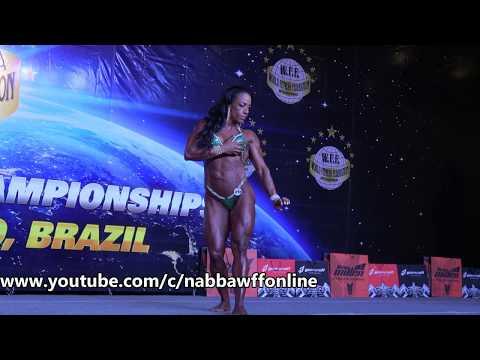 Zélia Costa – Competitor No 215 - Women Superbody - WFF Universe 2017