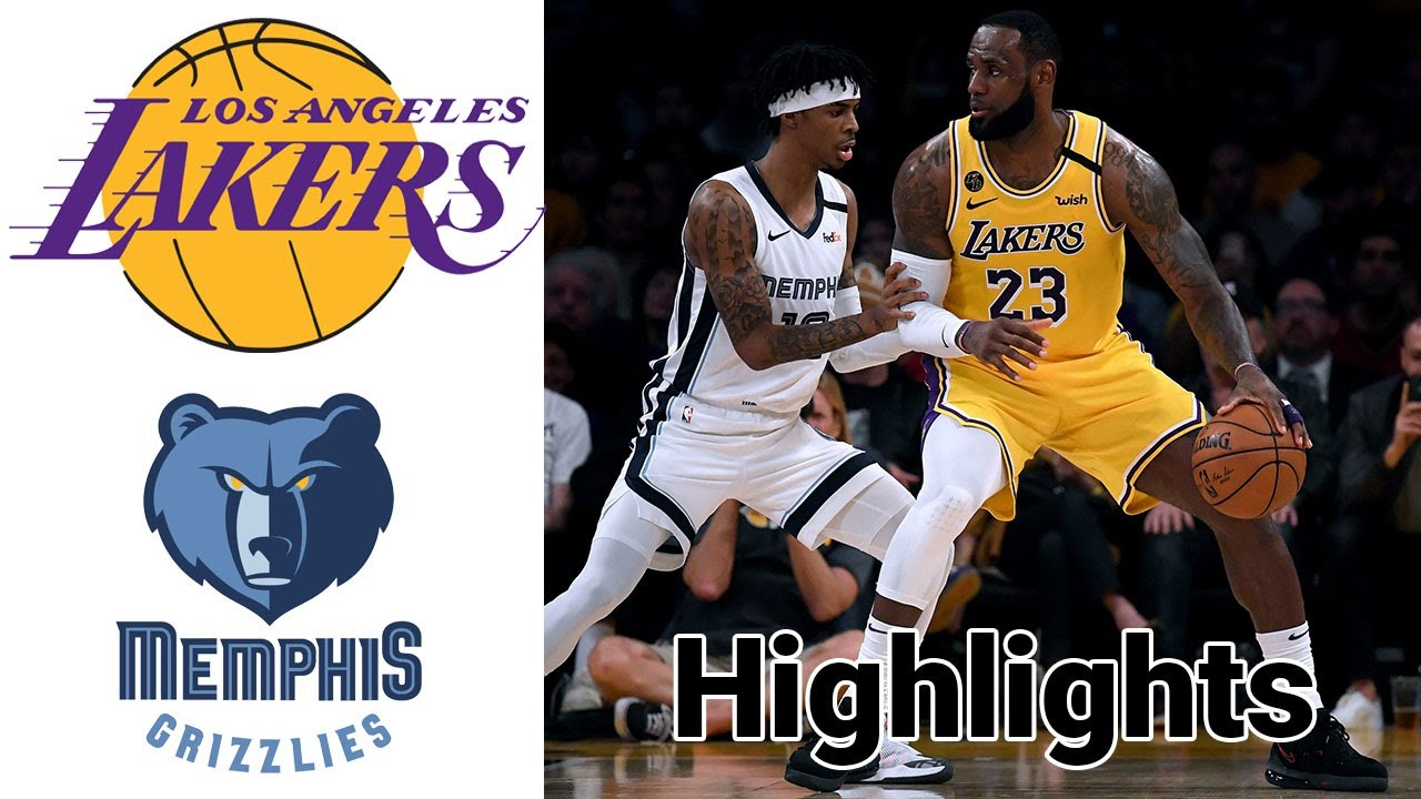 Lakers vs Grizzlies HIGHLIGHTS Full Game | NBA January 5