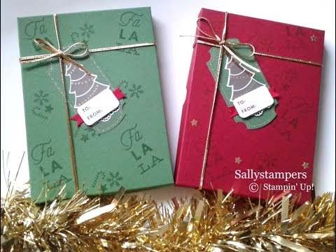 DVD/Stamp Gift Box