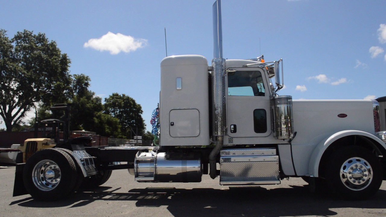 """2013 Peterbilt 389 2 Axle 36"""" Flat Top/ Charter Trucks ..."""