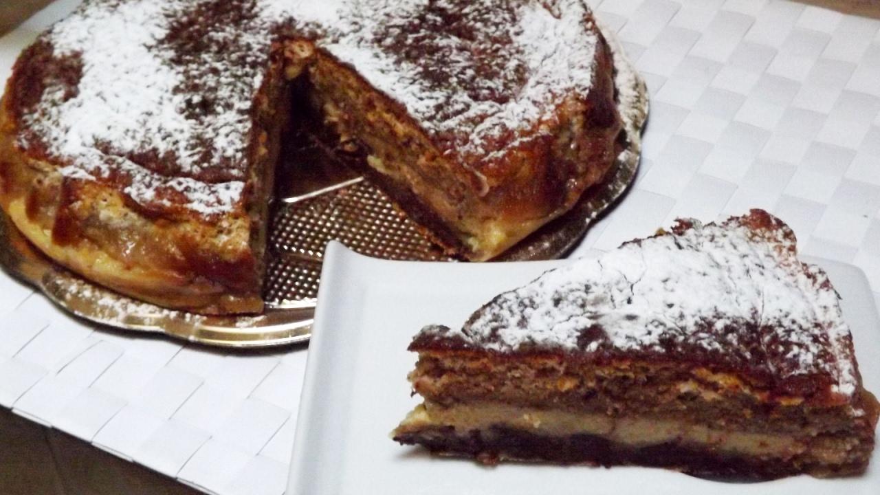 Crescionda di Spoleto torta magica con amaretti  YouTube