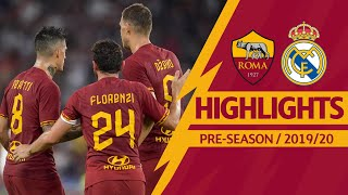 Roma v Real Madrid 2-2 MATCH HIGHLIGHTS | 2019-20 PRE-SEASON