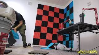 How To Install Acoustic Foam In Studio (DIY) | TNT: Episode 51