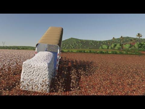HARVESTAR BOMULL | Farming Simulator 19