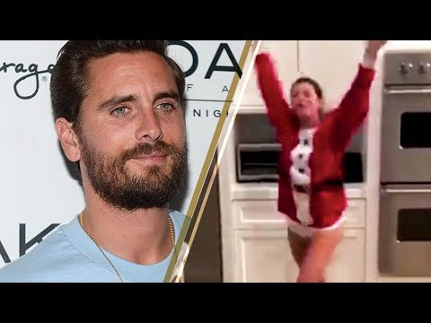 Sofia Richie Does a SEXY Santa Dance for Scott Disick