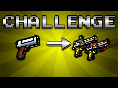 Using All Secondary Weapons Challenge! (Pixel Gun 3D)