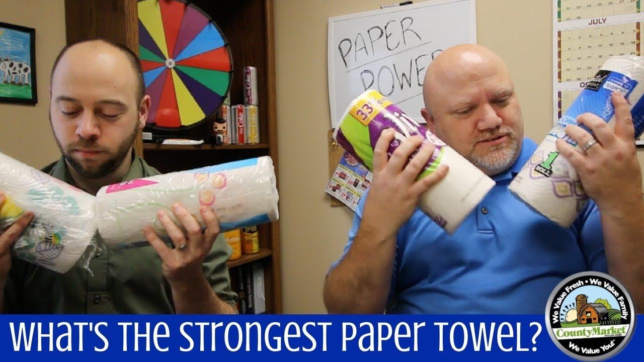 paper towel brands comparison