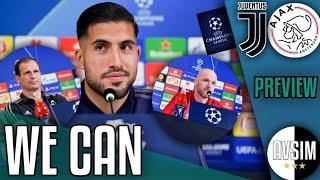 Vinciamo? Emre Can terzo centrale, Dybala titolare ||| Juventus-Ajax PREVIEW