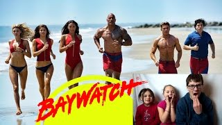 BAYWATCH Official Trailer #2 Reaction!!!