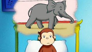 Curious George 🐵The Elephant Upstairs 🐵Full Episode 🐵 HD 🐵 Cartoons For Children