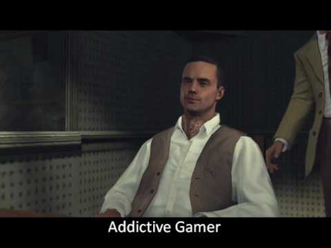 L.A. Noire - Grosvenor McCaffrey Interrogation At Central Police Station