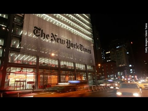 The New York Times Just Did Something It Hasn't Done In 95 Years - Newsy