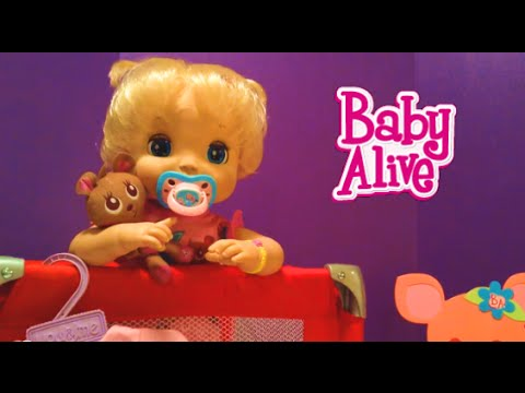 Soft Face Baby Alive Doll 2006 Beatrix Morning Routine