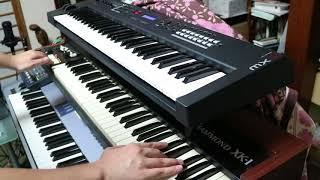 GARNET CROW『君の思い描いた夢 集メル HEAVEN』のシンセパートを弾いてみた