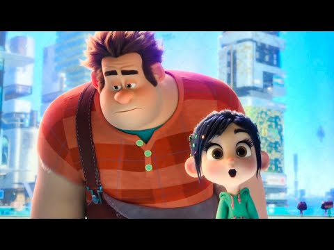 WRECK-IT RALPH 2 - Ralph tries to use Google Scene (2018) Mo