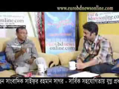 Interview of drama actor fazlur rahman babu with shaifur rahman by eurobdnewsonline.com